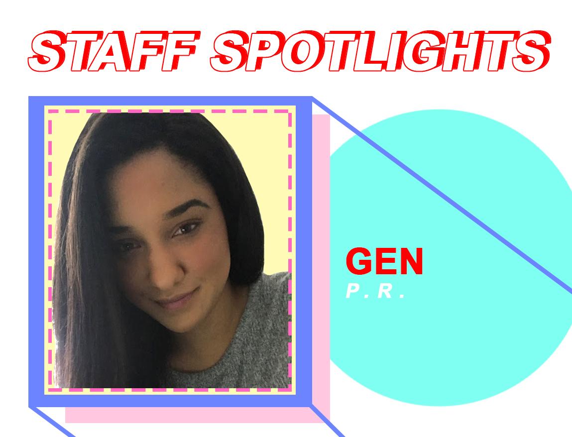 Staff Spotlights: Gen Correia