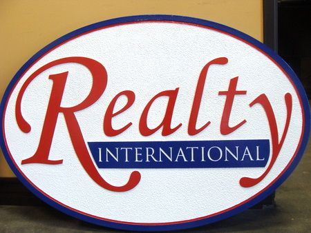 M1050 - Sandblasted Realty Company Sign (Gallery 12)