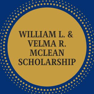 William L. & Velma R. McLean Scholarship