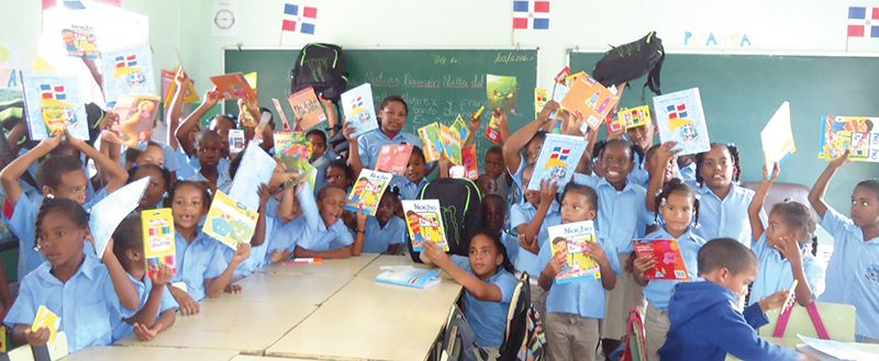 Oil City Press Ltd. Donates Supplies to Schools in Punta Cana Area