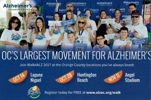 Alzheimer's Walk Laguna Niguel