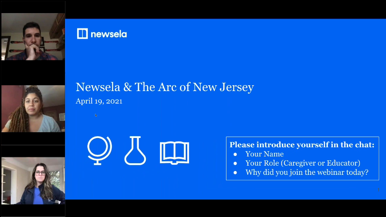 Web Content Accessibility Guidelines (WCAG) and Newsela Resources for Students