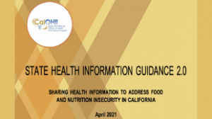 Sharing Information Just Got Easier for Health Care and Food Providers!
