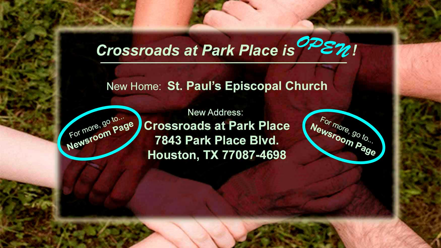 Crossroads at Park Place is Open!
