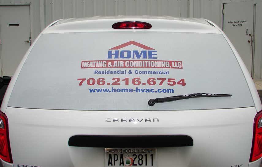 Rear Window Perf - Home Heating