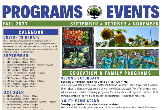 Fall Program and Events