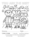 Color-In Pages (Non-Seasonal)