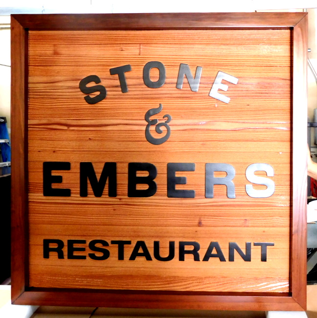 SM79 - Cedar Restaurant Entrance Sign (Gallery 25)