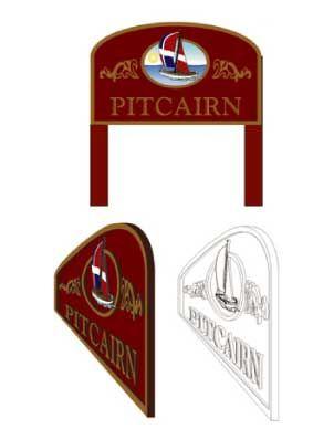Custom Designed Post & Panel Signs