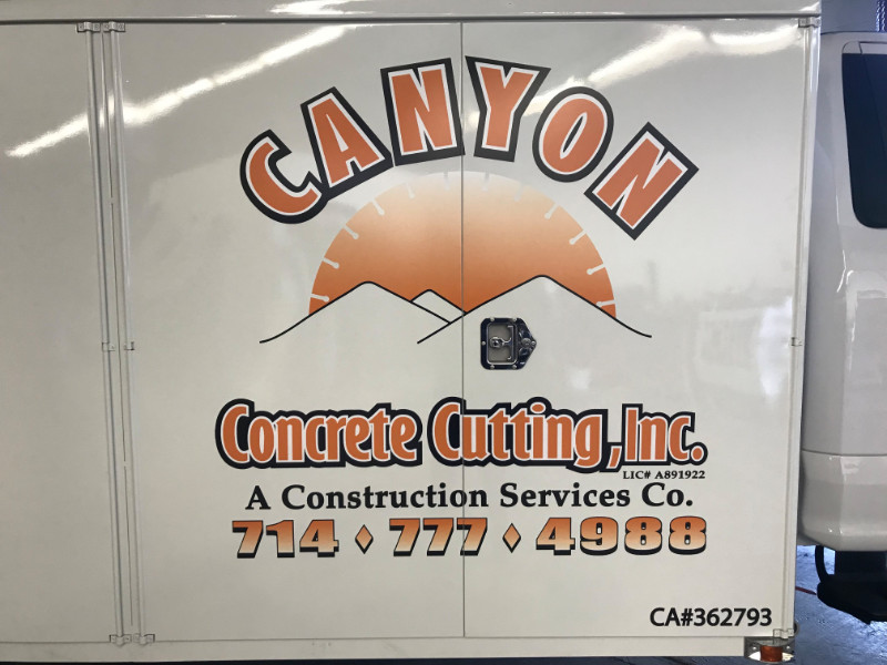Vinyl Decals for Commercial Vehicles in Orange County CA
