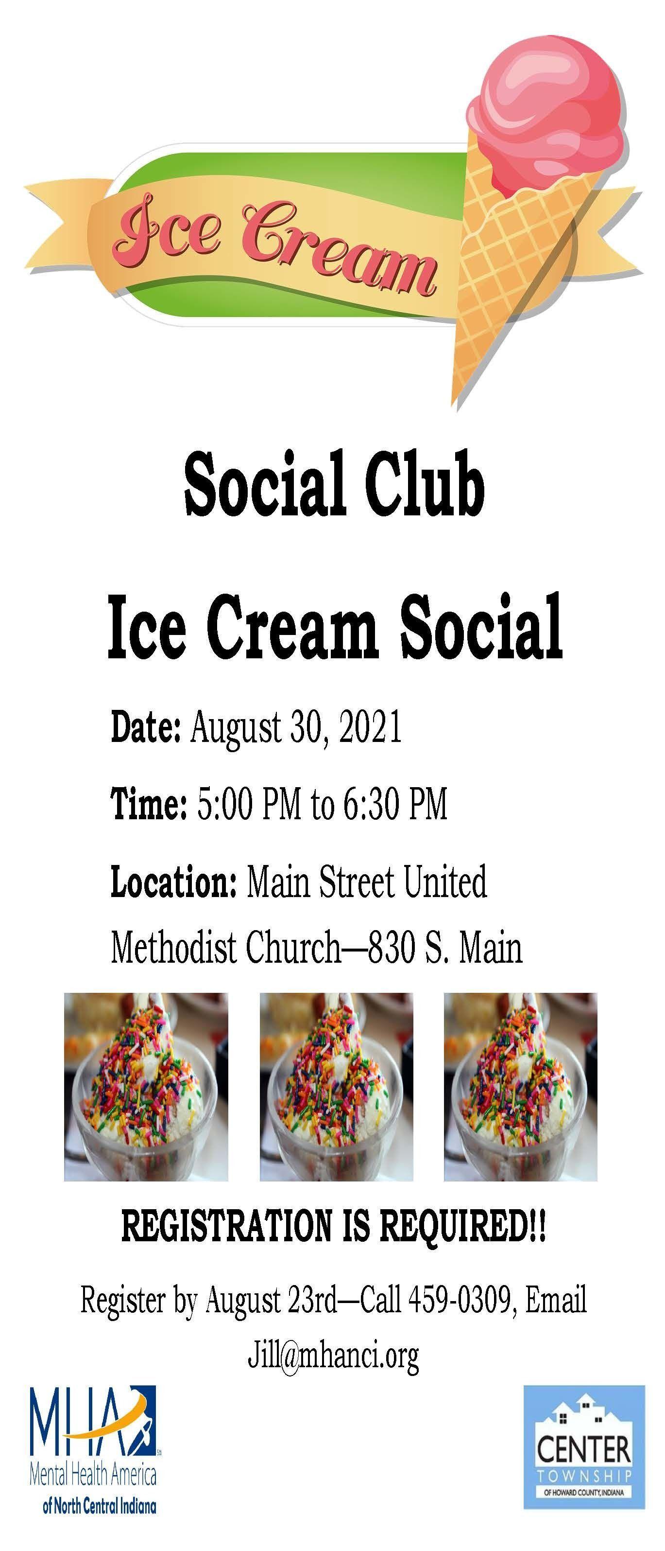 Social Club - Ice Cream Social
