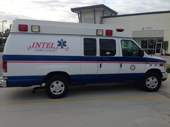 Van graphics for ambulances in Orange County