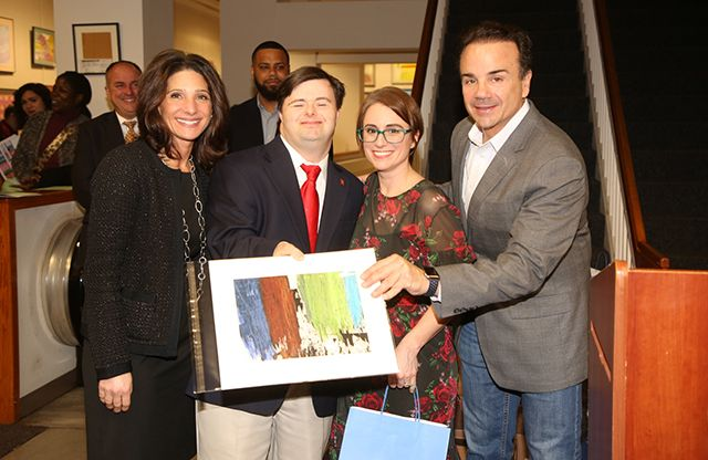 A 2020 'Unique Perspective:' Reception celebrates record number of artists