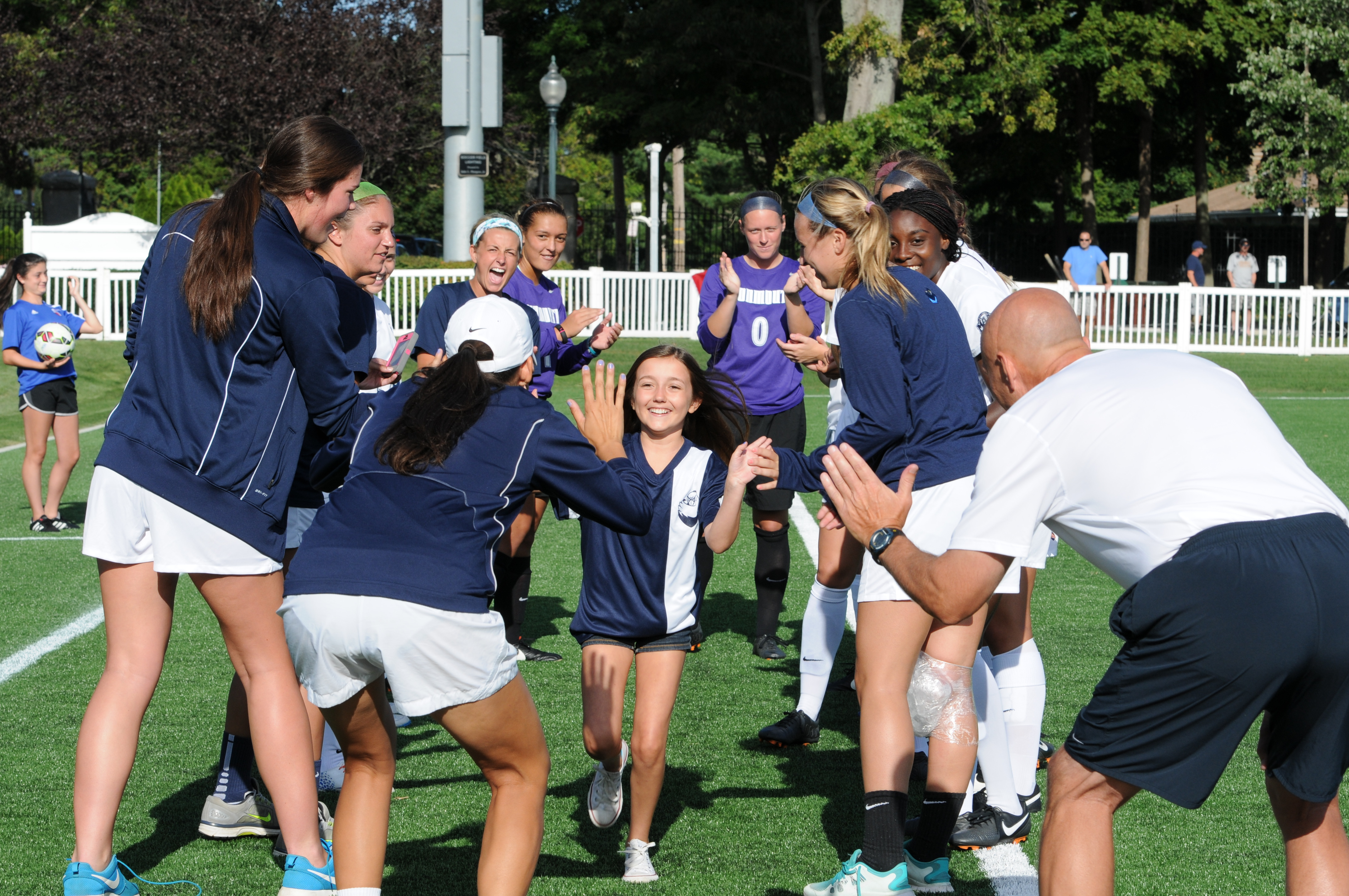 VIDEO: Emily and Monmouth University Women's Soccer