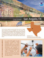Critical Thresholds, Extreme Weather, and Building Resilience: San Angelo, TX, USA