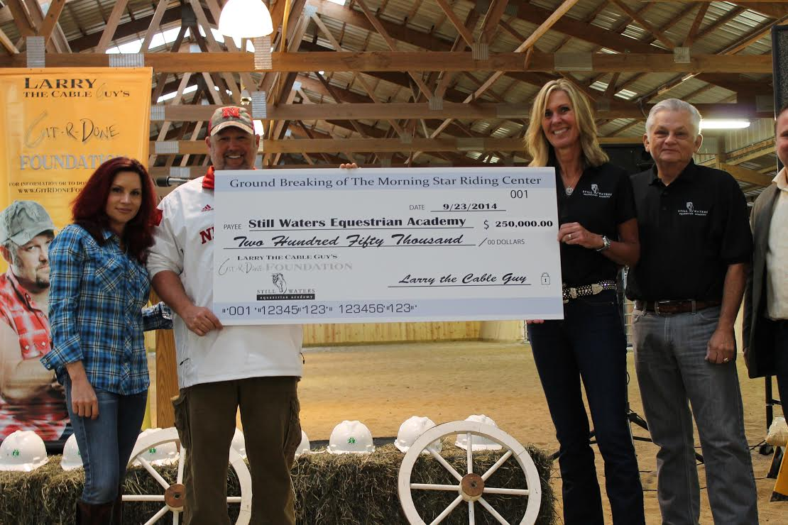 Git-R-Done Foundation to raise a barn, and hope, for equine therapy