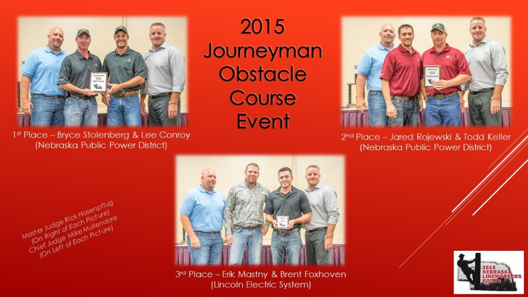 2015 Journeyman Obstacle Course