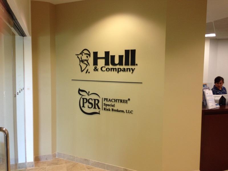 Office lobby signs, Custom 3D Logo Wall Signs, Irvine, CA 92614
