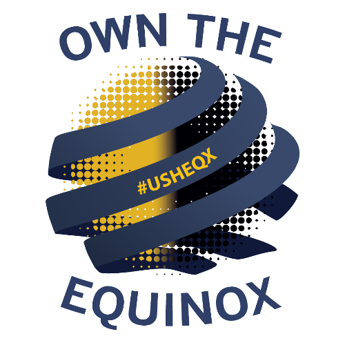 Own the Equinox Logo - Navy Text