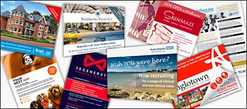 Leaflets, Flyers & Postcards