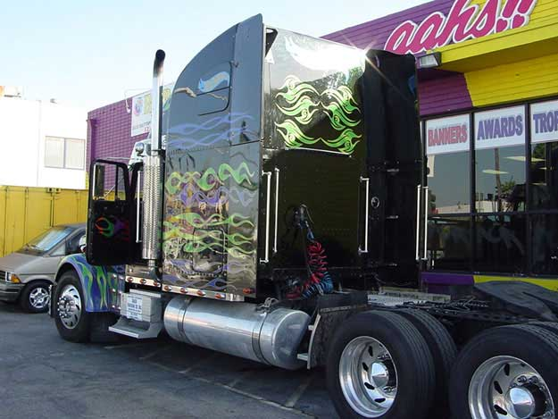 BIG RIG DECALS