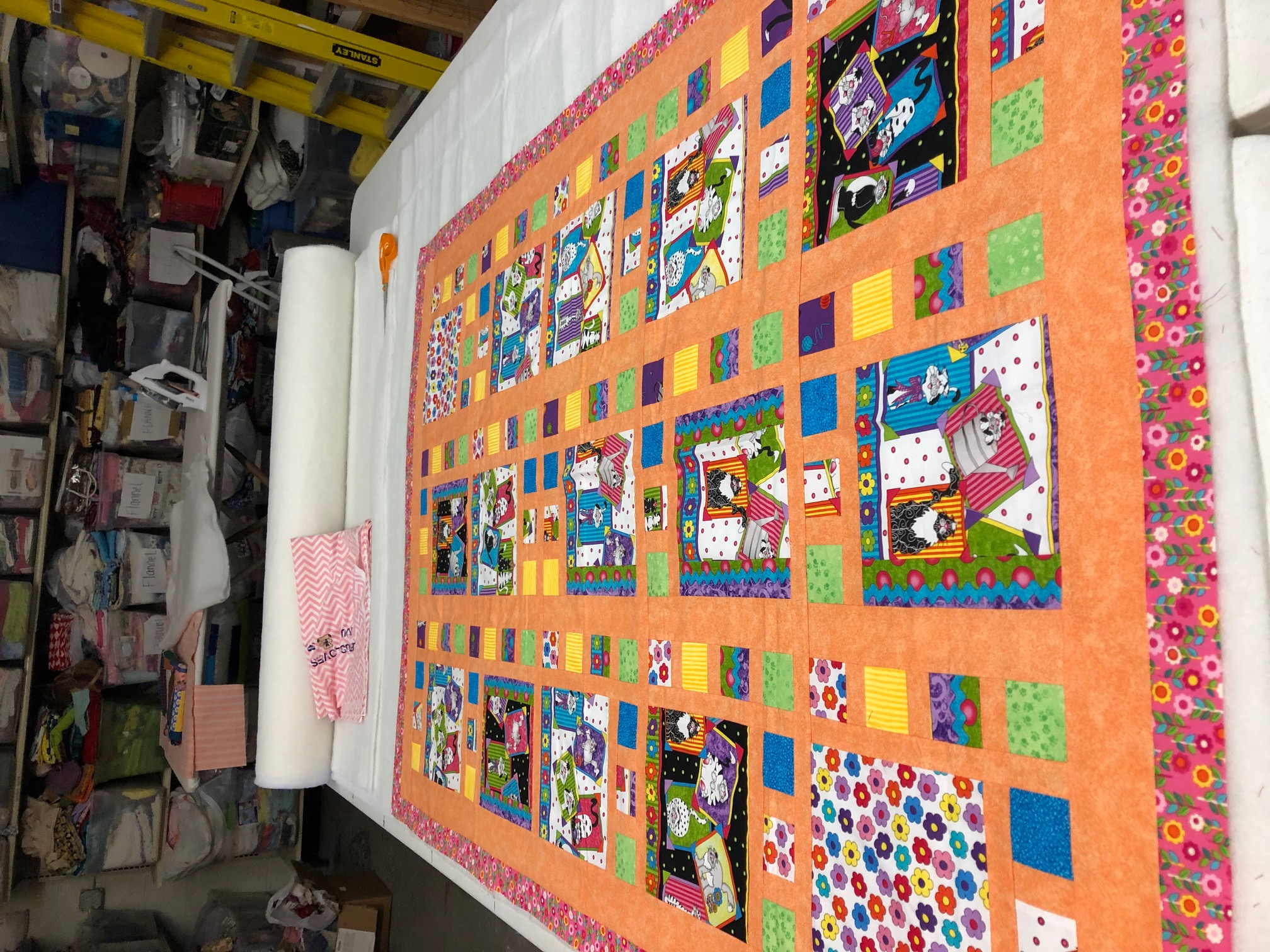 Toddler Piece Quilt