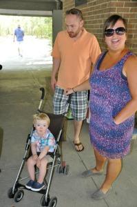 Jason, Kelly, and Carson
