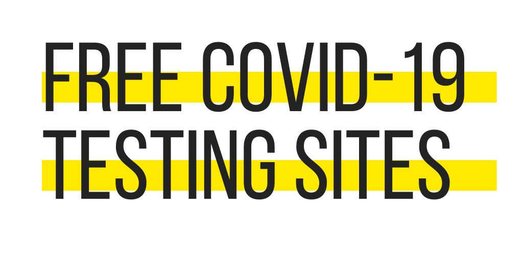 Free COVID-19 Testing Sites