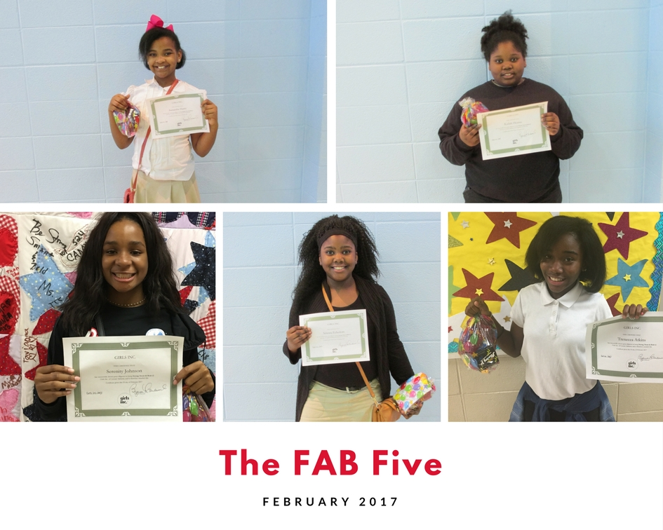 February FAB Five