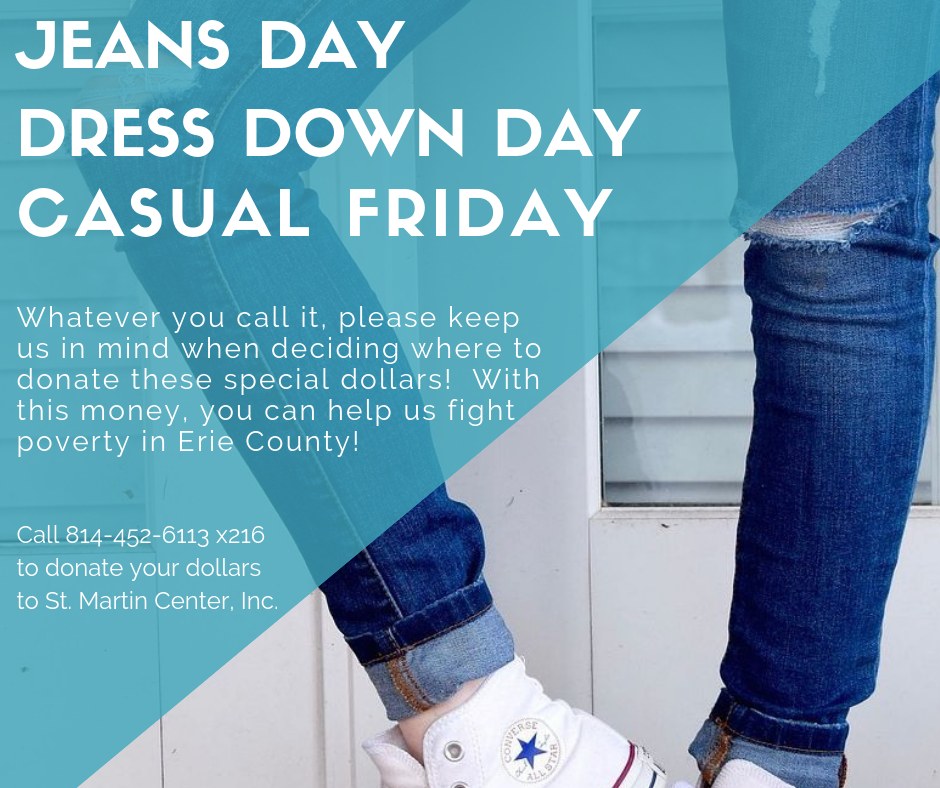 Jeans Day Dollars Welcome