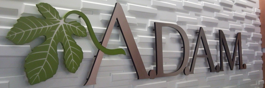 Brushed 3D Logo