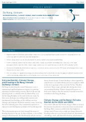 Da Nang: Extreme Rainfall, Climate Change, and Flooding (Policy Brief)