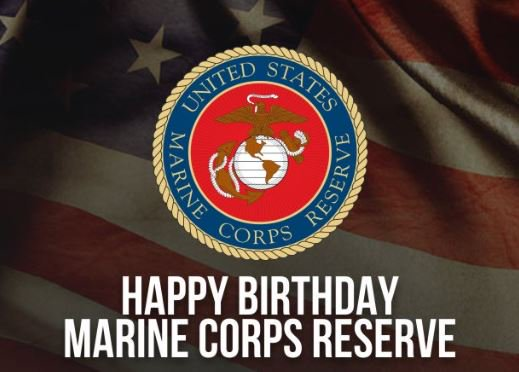 Marine Forces Reserve Birthday