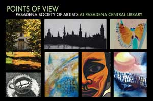 """Pasadena Central Library - """"Points of View"""""""