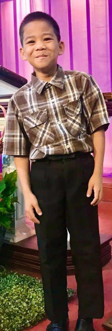 Jhewyn, 11, Philippines