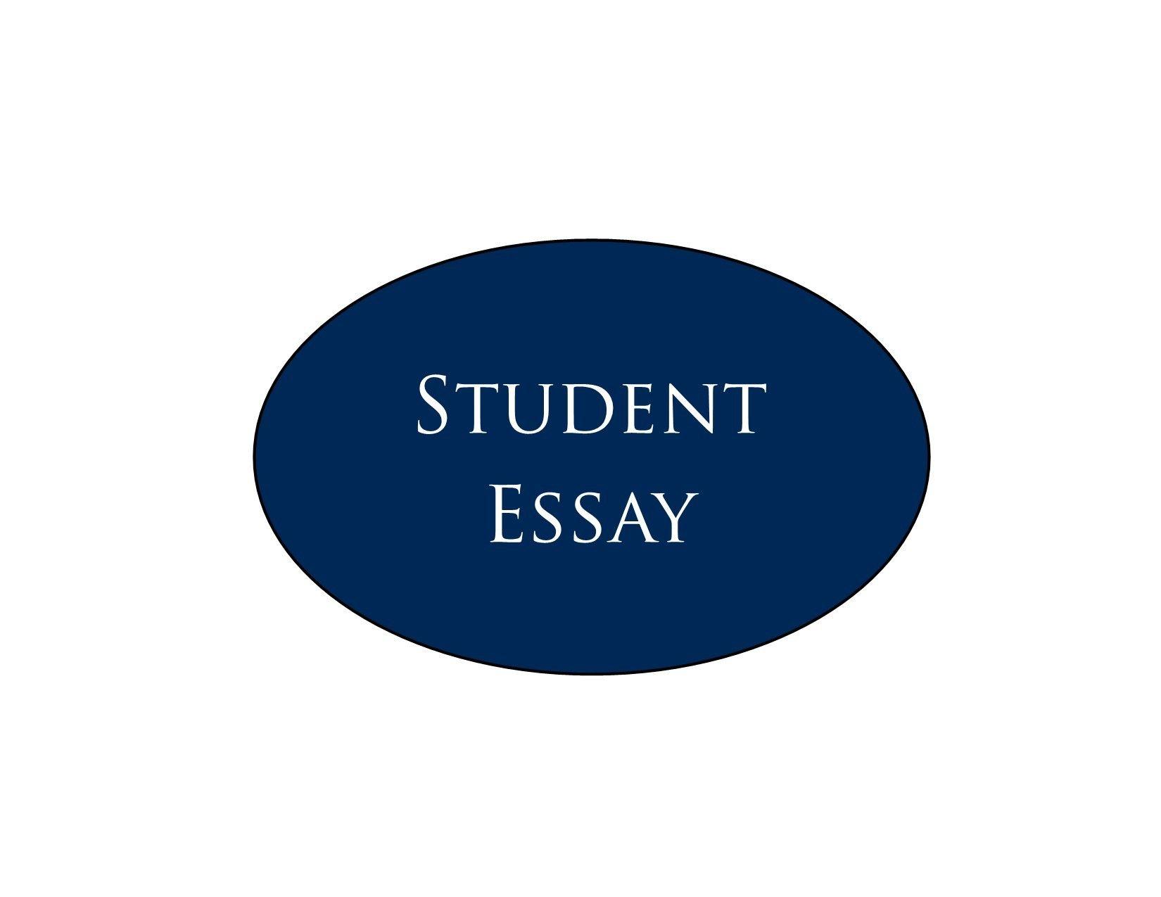 Student Essay