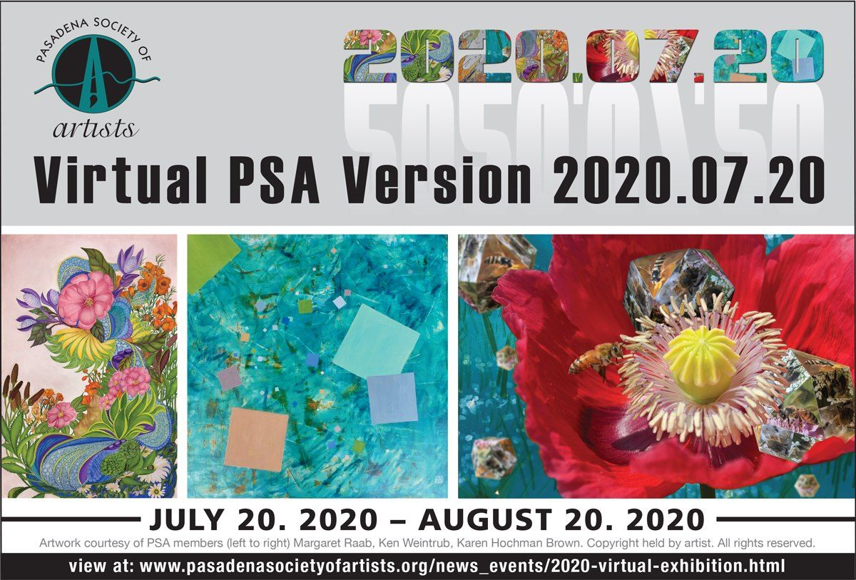 PRESS RELEASE - Virtual PSA Version 2020.07.20 -  Inaugural Digital Exhibition