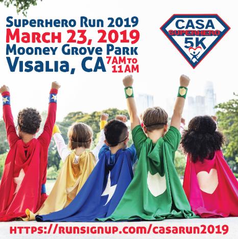CASA Superhero Run 2019