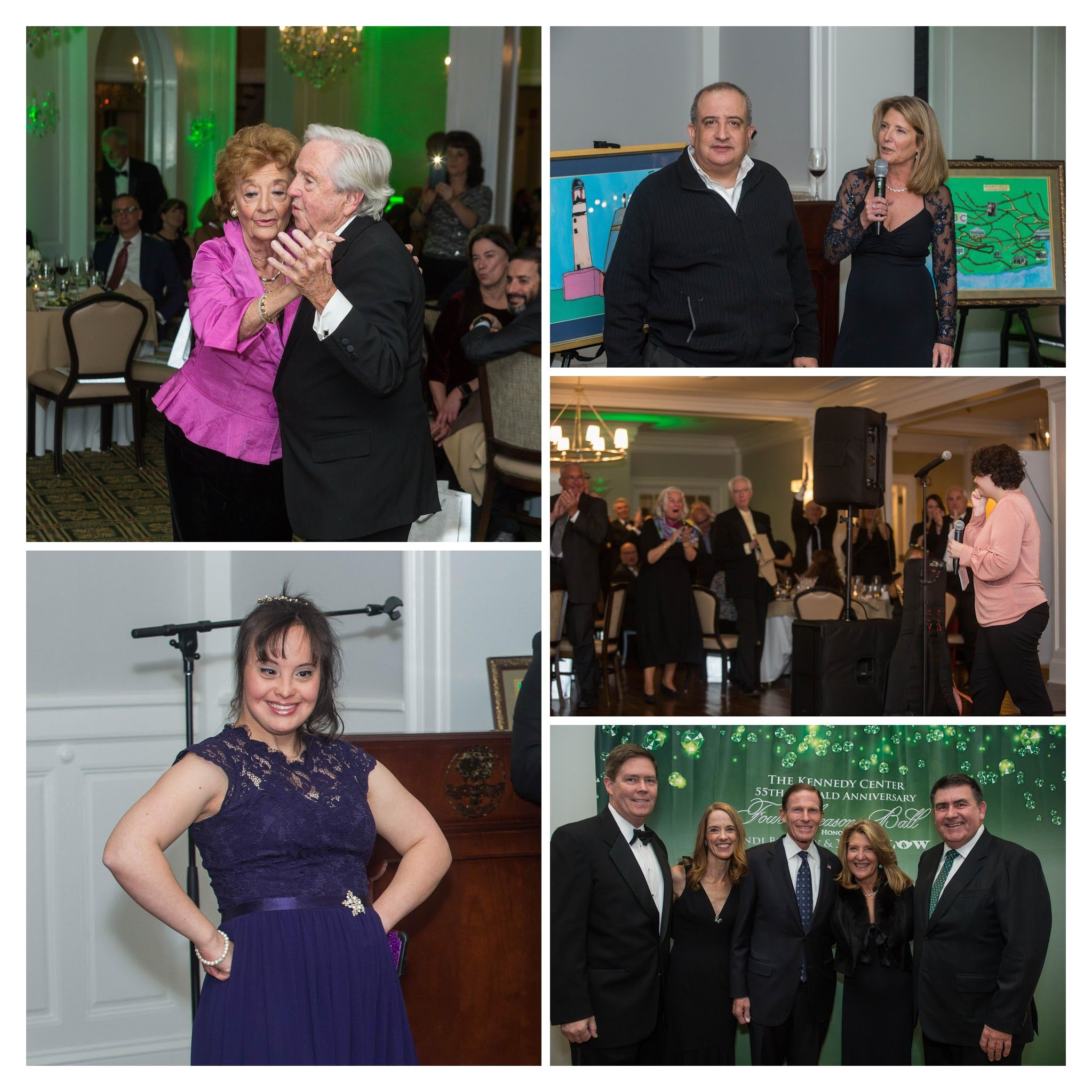Emerald Anniversary raises over $150k for Kennedy Center programs, businesses