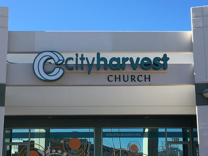 Church Exterior Signs
