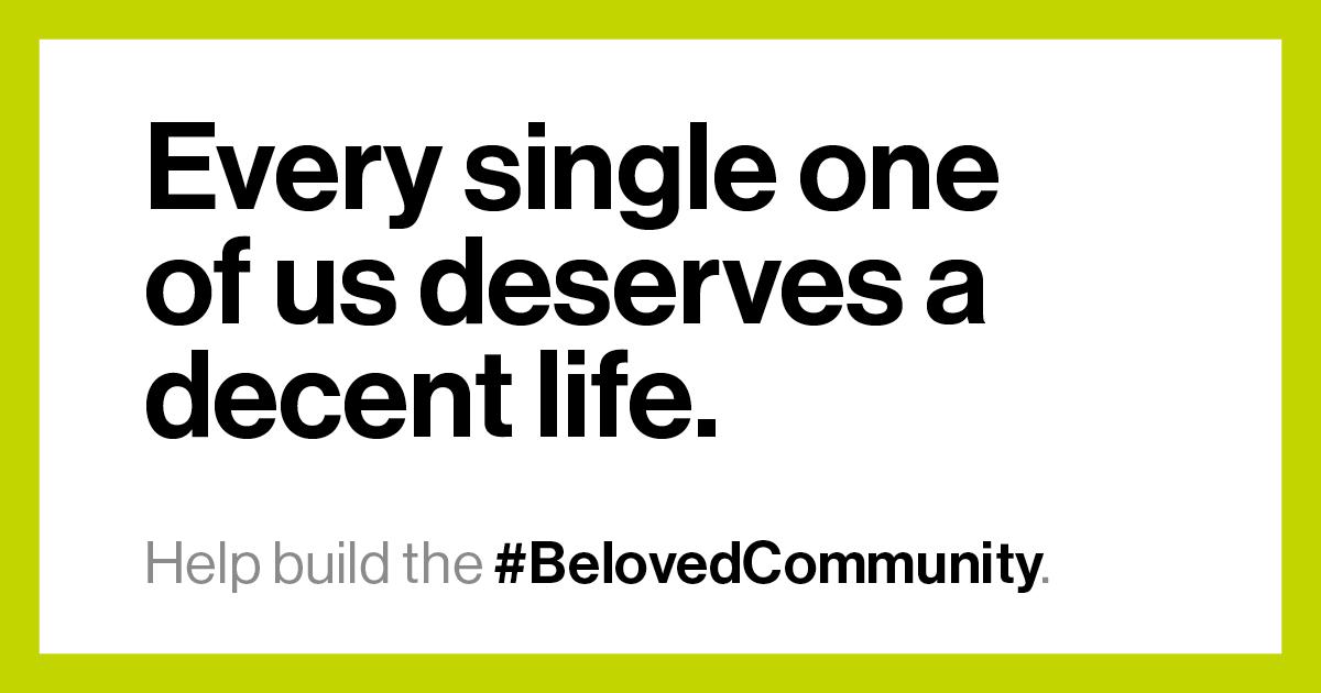 Help Build the Beloved Community