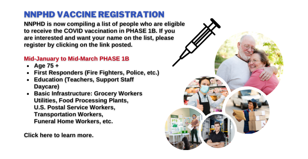 COVID-19 Vaccine Sign Up