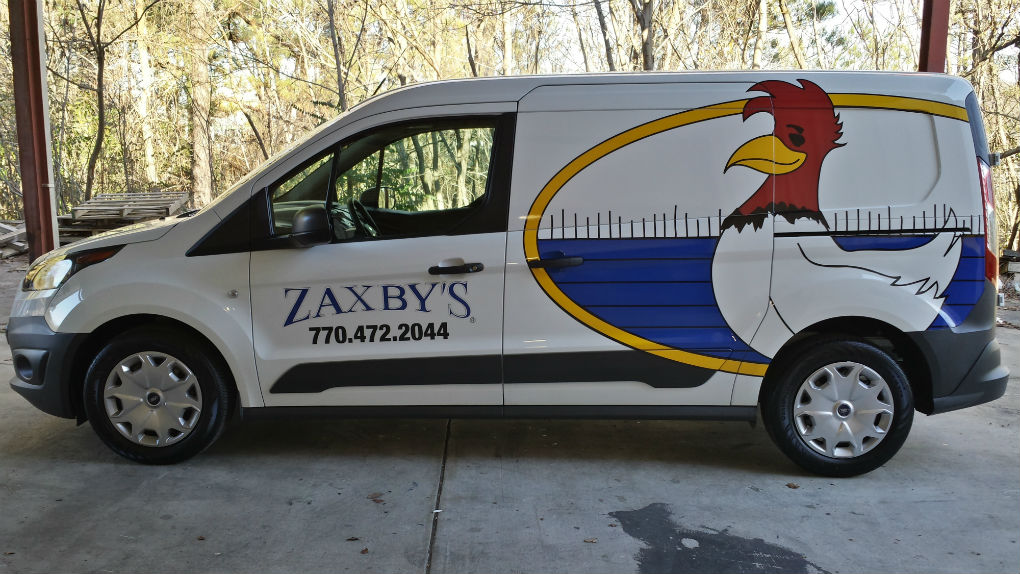 Zaxby's Driver Side