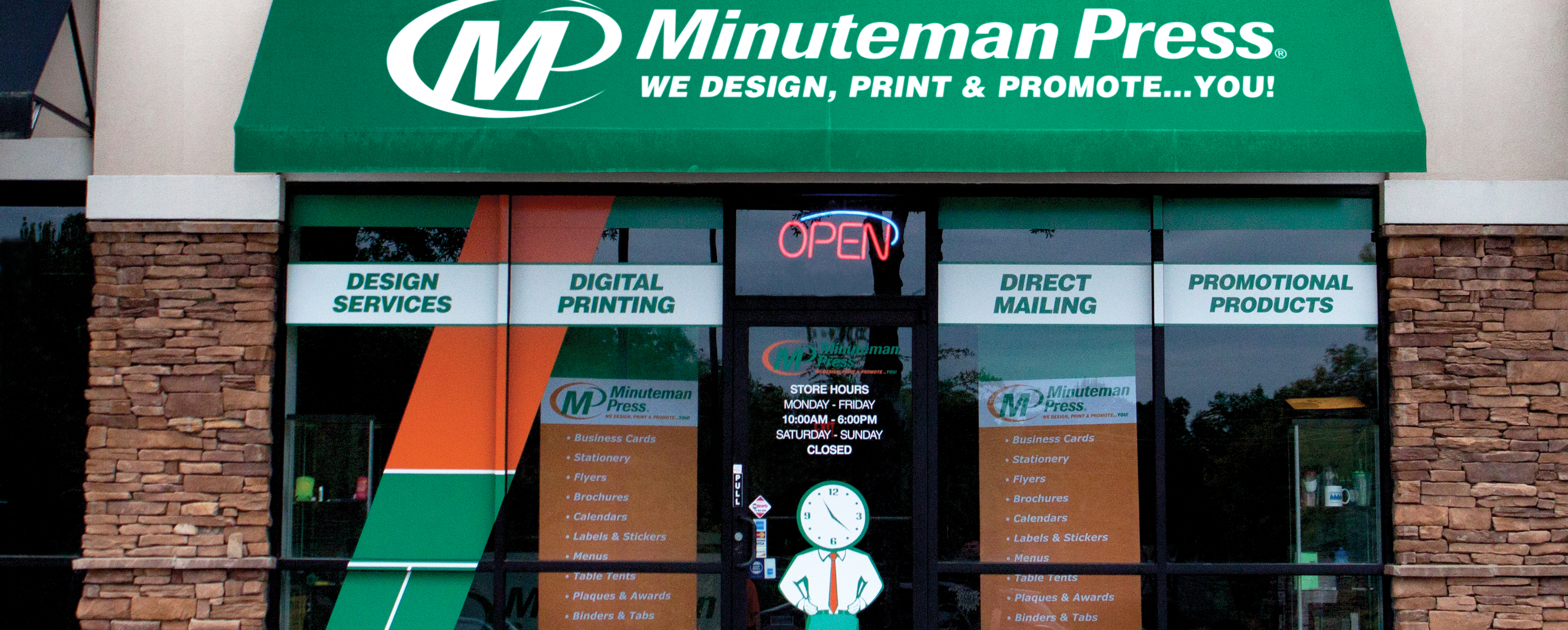 Minuteman press printing franchise business services marketing contact your local center reheart Images
