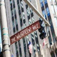 Magnificent Mile Street Sign