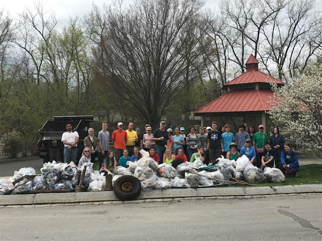Park Serve Day at Blackstone River & Canal Heritage State Park