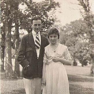 1917: William Friedman & Elizebeth Smith married.