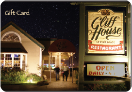 Cliff House Gift Card