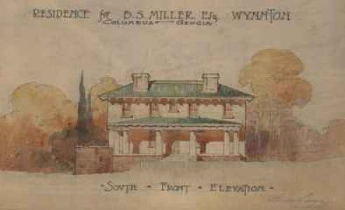 Architectural drawing, 1912