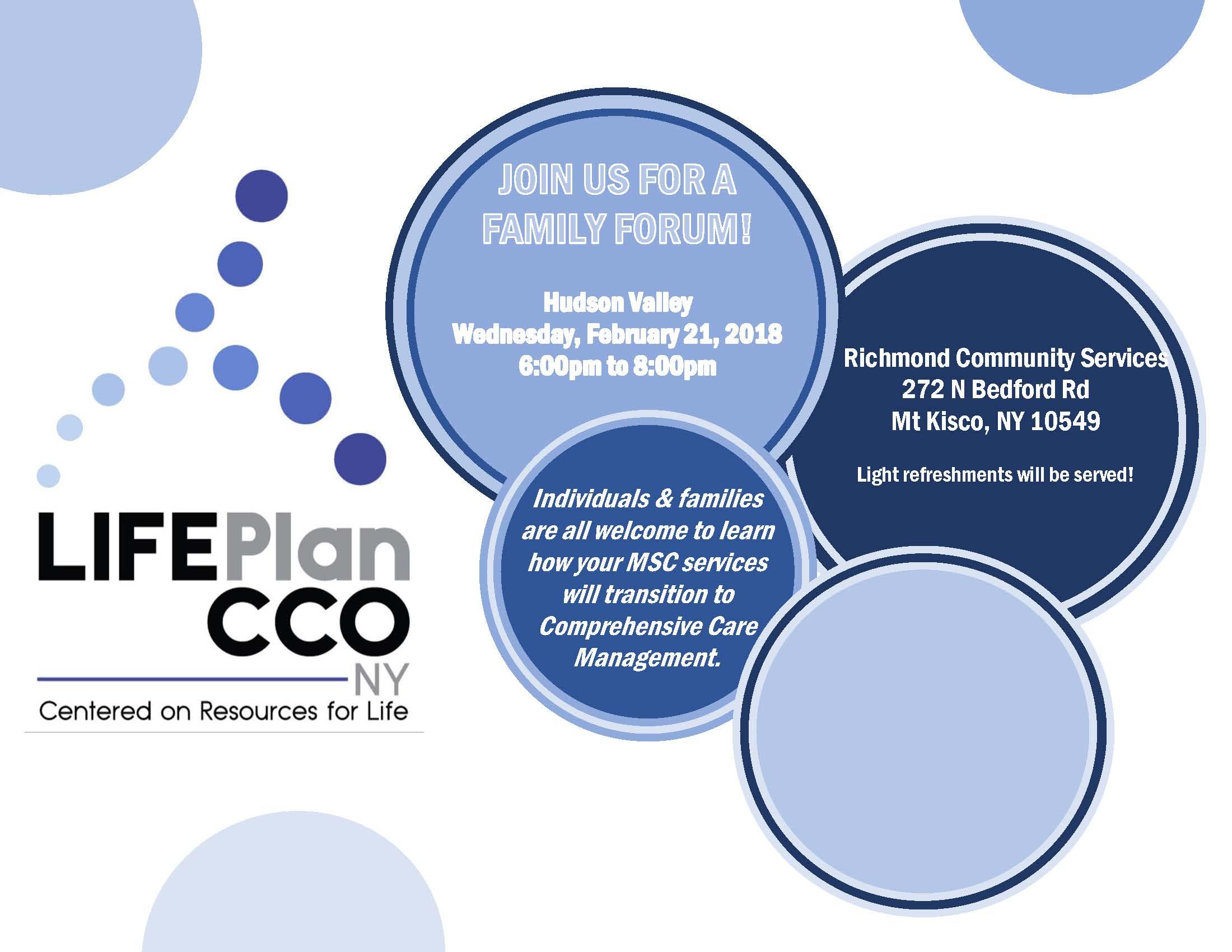 Life Plan CCO Family Meeting
